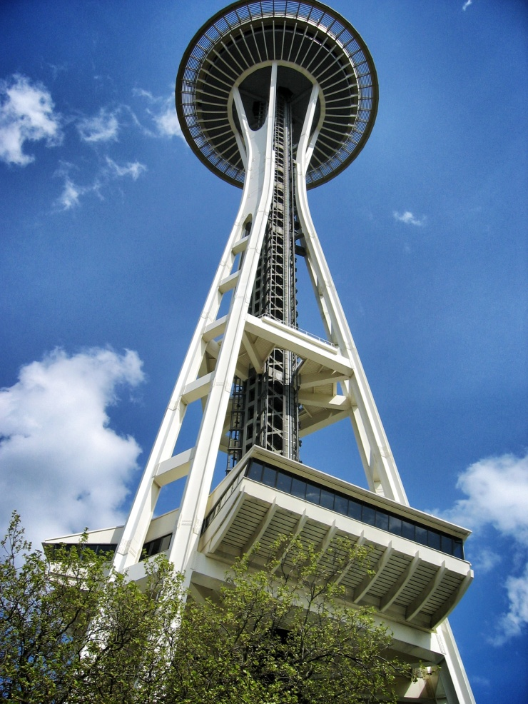 The Space Needle at Seattle Center