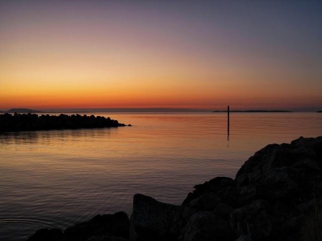 Sunset on Orcas Island