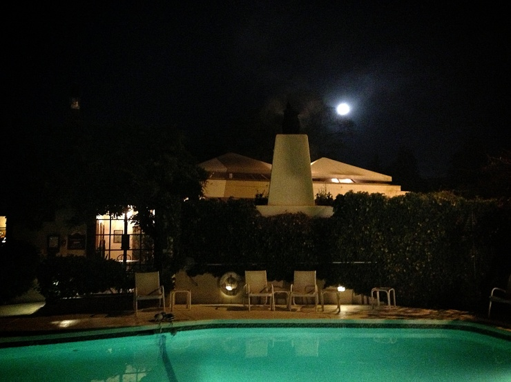 Super Moon in Santa Fe