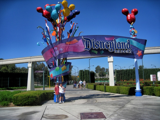The Sign Says Disneyland