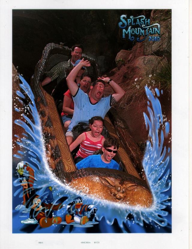 The Sign Says Splash Mountain