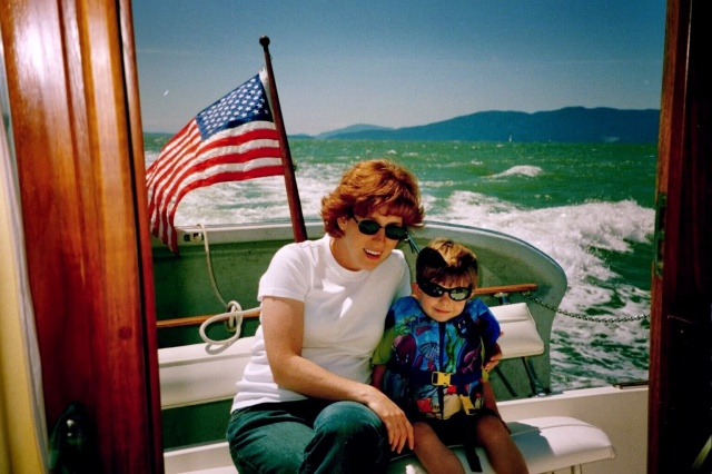 Ryan and I on Bellingham Bay.
