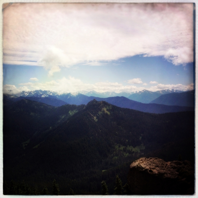 Klahhane Ridge Trail, Olympic National Park.