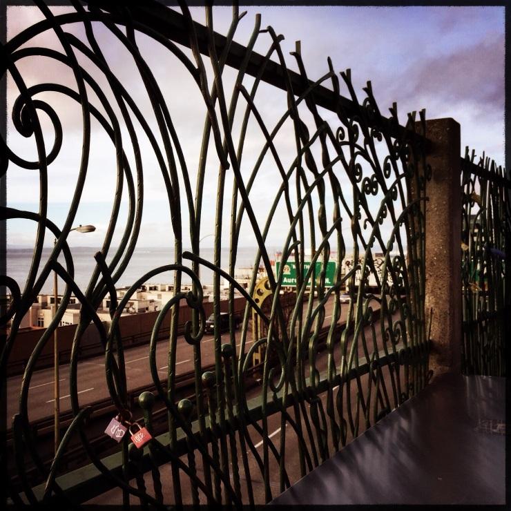 Locks over the Viaduct