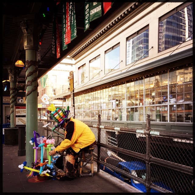 Wordless Wednesday 1-21-15 Balloon Man