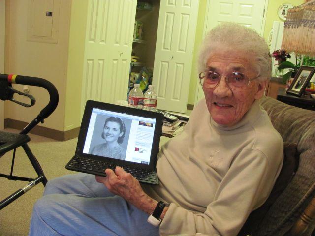 Grandma at 96