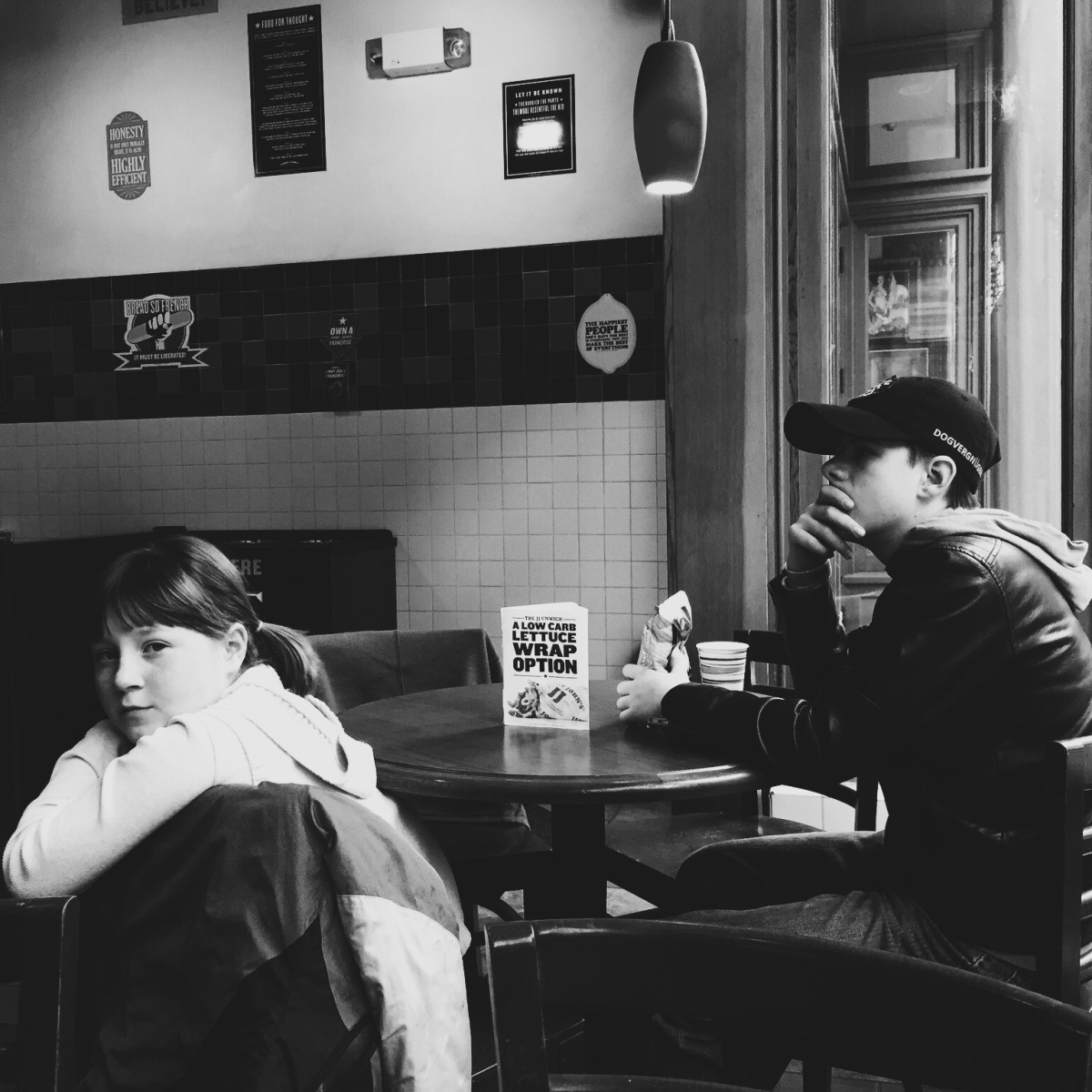 Telling Stories Through Black and White Photography:  Waiting For Food and Fun