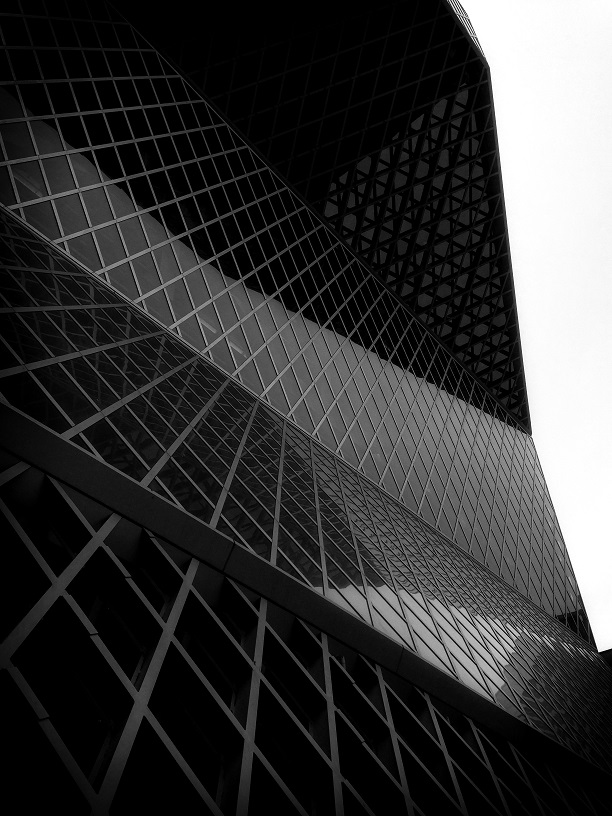 Seattle Architecture in Black & White