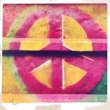Peace Sign Street Art