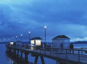 Nightime at the Edmonds Fishing Pier